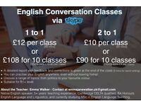 Cheap Online English Classes with Native Qualified English Teacher