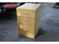Office home 3 Drawer Draws Paper Filing Lockable