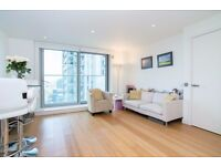 STUNNING 1 BED 1 BATH, 17TH FLR, FURNISHED IN Pan Peninsula Square, West Tower, Canary Wharf E14