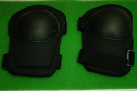 Black - ACE - Tactical Reinforced Knee Pads