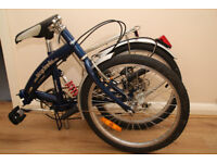 FOLDING BIKE / BICYCLE / CYCLE ** GOOD CONDITION **RECENTLY CLEANED & SERVICED**
