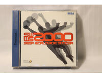 "Sega Dreamcast Game ""SWWS 2000 Sega Worldwide Soccer"" in Case with Instruction Booklet."