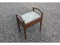 Fine quality antique piano stool
