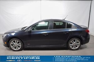 2014 CHEVROLET CRUZE LT TURBO GROUPE RS, SIEGE CUIR