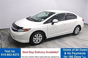 2012 Honda Civic LX POWER PACKAGE! KEYLESS ENTRY! CRUISE CONTROL