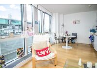 A LUXURY ONE BEDROOM APARTMENT TO RENT IN CANARY WHARF E14 WITH GYM CONCIERGE