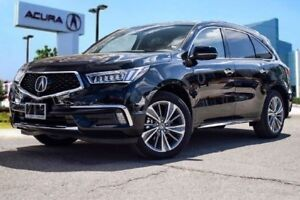 2017 Acura MDX Elite 7yrs/130,000KM Acura Warranty Included