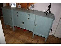 Shabby Chique/Annie Sloaned dining room sideboard/ storage unit 175 cm wide