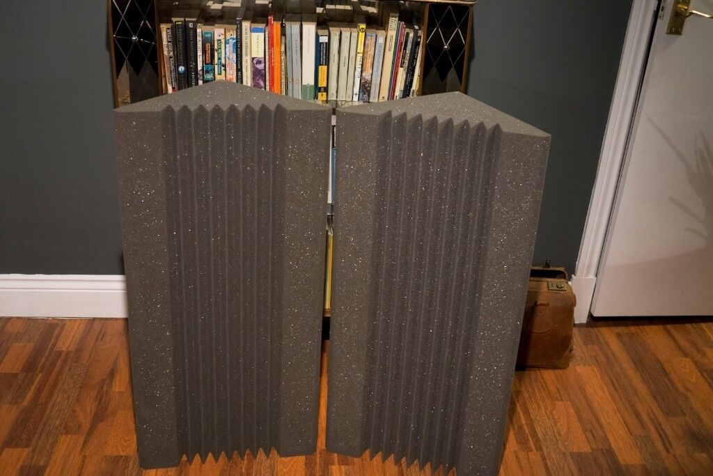 Two Bass Traps for Music Studio
