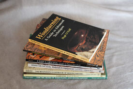 job lot of carpentry woodworking books