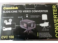 CamLink CVC100 Slide / Cine to Video Converter
