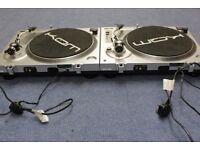 KAM DDX750 x 2 Direct Drive Turntables