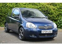 TOYOTA YARIS 1.3L 2 FEMALE OWNERS FROM NEW! ALLOY WHEELS! LOW MILEAGE!