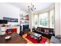 2 bedroom, 2 bathroom apartment located on the raised ground floor of a glorious period conversion