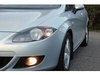 *Beautiful*Top Spec*2006 Seat Leon 2.0 TDI Reference Sport 5dr, Metallic Silver