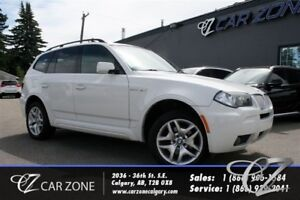 2008 BMW X3 3.0si, MPACKAGE, PANOROOF