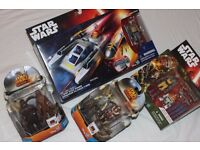 STAR WARS REBELS JOBLOT - 9 x Figures + Y-WING BOMBER inc DARTH VADER - NEW in BOXES