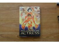 Millennium Actress DVD - new, still in plastic packaging, rare.