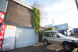 INDUSTRIAL UNIT/WORKSHOP TO LET ground floor, Oatlands 1 minute from M74,7 Days/24 Hour Access