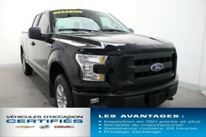 2016 Ford F-150 4WD SUPER CAB 133'' WB XL SPORT ECOBOOST MAGS 17