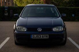 image for Volkswagen, GOLF, Hatchback, 2003, Manual, 1598 (cc), 5 doors