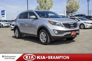 2013 Kia Sportage LX|BLUETOOTH|SAT RDIO|HTD SEATS|ALLOYS|KEYLESS