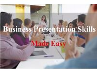 Business presentation skills made easy