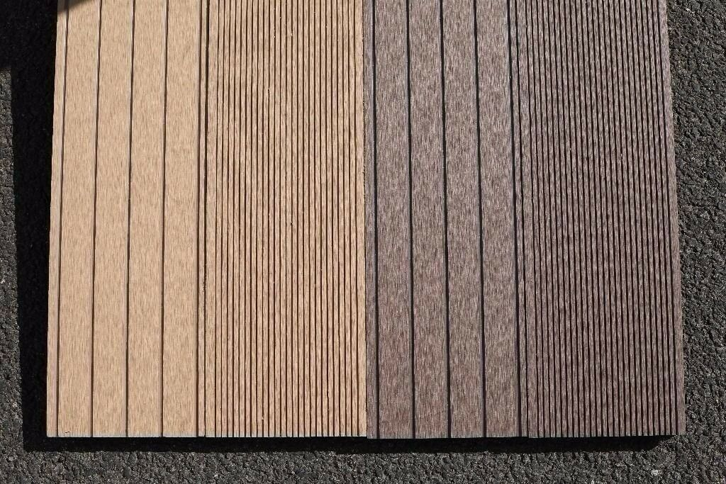 Wpc wood plastic composite hollow decking board in for 6 metre decking boards