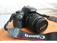 Canon EOS 450D DSLR Camera with 18-55mm kit lens