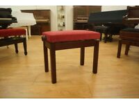 New adjustable piano stool