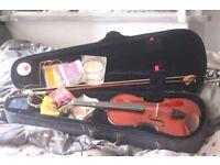 Full size. Stentor student 1 violin