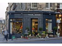 Senior Florist In Edinburgh