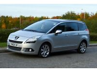Peugeot 5008 1.6 D Allure, 2013 7-seater LOW MILEAGE!