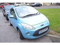 2009 59 FORD KA 1.2 STYLE 3 DOOR HATCH BLUE £30/yr TAX AND INSURANCE GROUP 2