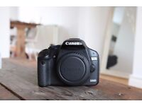 Canon 500D DSLR Camera Body + Charger + Battery