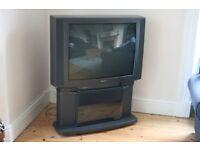 "Toshiba 32"" TV plus stand"