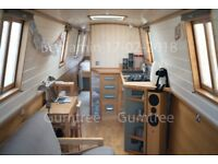 Contemporary 57' Colecraft Traditional-Stern Narrowboat