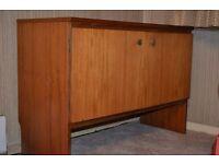 Wooden sewing cabinet - 2 doors,