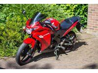 Honda CBR 125 R-D June 2014 Red