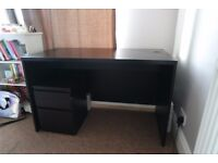 IKEA BEDROOM FURNITURE including wardrobe, desk and draws | Can be sold separately or as a set.