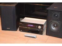 SONY CMT-HX5 BT 50W BLUTOOTH/USB/CD/RADIO/REMOTE CANBE SEENWORKING