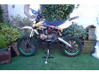 140cc pit bike big wheel
