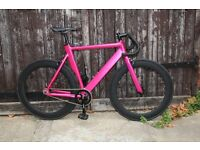 GOKU CYCLES Aluminium Alloy Frame Single speed road TRACK bike fixed gear racing bike zaq