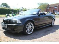 BMW Convertible e46 330 with hardtop