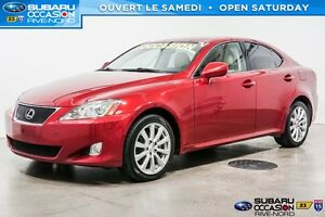 2008 Lexus IS 250 AWD CUIR/TOIT OUVRANT/BLUETOOTH