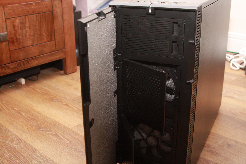 Fractal Design Define R3 Black Pearl ATX Case