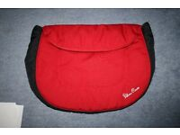 Silver Cross Ventura Plus Car Seat Apron/Footmuff - Red ****can post ***