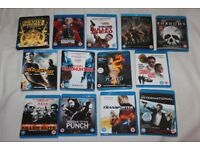 13 x BLU RAY Thriller FILMS (Region B discs) (Stallone / Pacino / Walken / De Niro / Statham) MINT