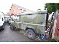 land rover 110 defender project SWAP