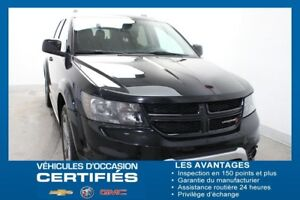 2017 Dodge JOURNEY AWD Crossroad 7 PASSAGERS CUIR DÉM.À.DIST MAG
